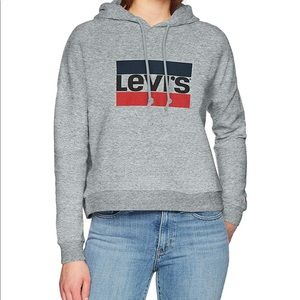 Levi's Graphic Track Hoodie Size Small